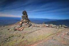 Franconia Ridge in the White Mountains in New Hampshire Royalty Free Stock Images