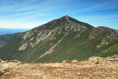 Franconia Ridge in the White Mountains in New Hampshire Royalty Free Stock Photo
