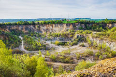 Franconian Canyon Stock Image