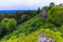 Franconian Early Summer Landscape Stock Photography