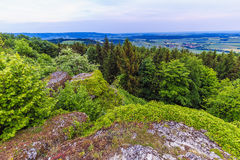 Franconian Early Summer Landscape Royalty Free Stock Image