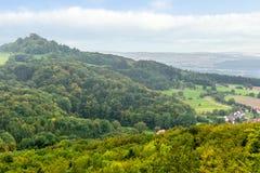 Franconian Landscape Stock Image