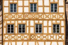 Franconian Old town - framework Royalty Free Stock Photos