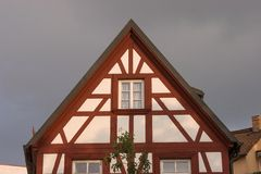 Franconian Old town - framework Stock Photography