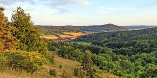 Franconian rocky Landscape Stock Image