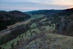 Franconian Spring Landscape Royalty Free Stock Photos