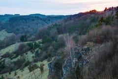 Franconian Spring Landscape Stock Image