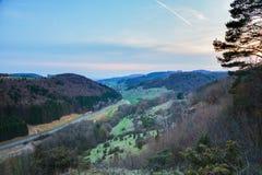 Franconian Spring Landscape Stock Photography