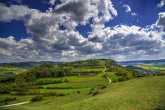 Franconian Suisse, Niemcy - Fotografia Royalty Free
