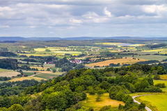 Franconian Summer Landscape Stock Photography