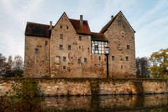 Franconian Water Castle Brennhausen Royalty Free Stock Photography