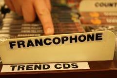 Francophone Images stock