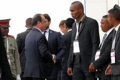 16. Francophonie-Gipfel in Antananarivo Lizenzfreies Stockfoto