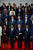 16. Francophonie-Gipfel in Antananarivo Stockfotografie