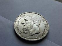5 francos de Bélgica imagen de archivo