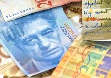Francos suizos Imagen de archivo libre de regalías