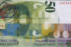 Francos suizos Imagenes de archivo
