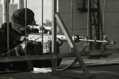 Francotirador Imagen de archivo libre de regalías
