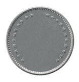 Francs coin stock photography
