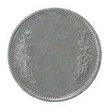 Francs coin stock image