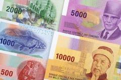 Francs de Comores un fond