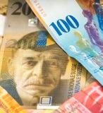 Francs suisses Photos libres de droits