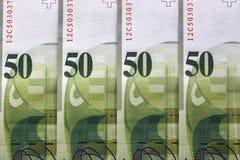 Francs suisses Images stock