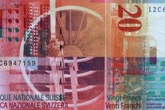 Francs suisses Photo libre de droits