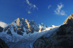 Francuscy Alps obraz stock