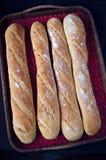 Francuscy baguettes Zdjęcie Royalty Free