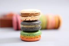 francuscy macarons Fotografia Stock