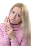 francuska dziewczyna manicure Fotografia Royalty Free