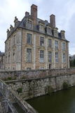 Francuska górska chata Zdjęcie Royalty Free