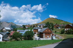 Francuska górska wioska Obrazy Royalty Free