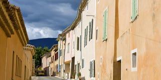 francuska grodzka typowa wioska Zdjęcia Royalty Free