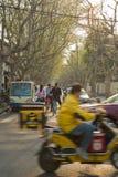 Francuska koncesja gromadzki Szanghaj Chiny zdjęcie stock