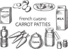 Francuska kuchnia Obrazy Royalty Free