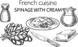 Francuska kuchnia Fotografia Royalty Free