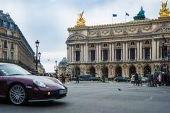 Francuska opera Garnier w Paryż fotografia royalty free