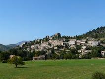 francuska średniowieczna wioska zdjęcia royalty free
