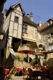 francuska restauracja Zdjęcia Royalty Free