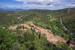 Francuska wieś Zdjęcie Stock