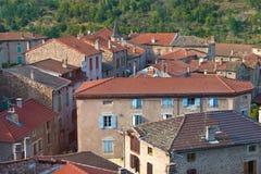 Francuska wioska zdjęcia stock