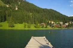 Francuska wioska w Alps górach Obrazy Stock