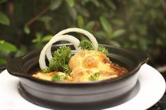 francuska zupa cebulowe Fotografia Stock