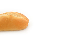 Francuski baguette na białym tle Fotografia Royalty Free