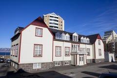 Francuski dom w Reykjavik Iceland Obraz Stock