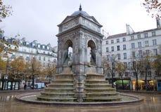 Francuski dziejowy zabytek w Paryż obraz stock