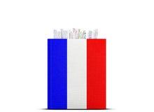 francuski język Obrazy Royalty Free