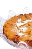 Francuski jabłczany kulebiak Obrazy Royalty Free